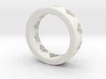 large adult heart ring