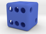 Balanced Hollow Dice (D6) (1.5cm) (Method 1)