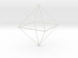 Oktaeder 6 cm