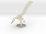 Male Velociraptor (1:12 scale hollow)