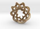 3 strand mobius spiral NO ball - Pendant