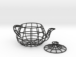 Wireframe teapot