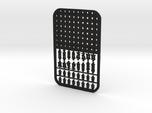 Credit Card Chess Set