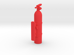 Fire Extinguisher 1/10th with simulated mount