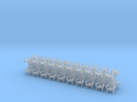 Parlor chairs X40 HO Scale (higher detail)