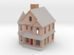 Queen Anne House - 1:300 scale
