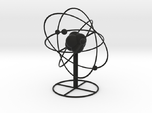 Atom planetary model with base