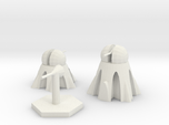 Light, Roof Top, and Stand Alone Heat Ray Turrets