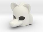 Rodentlike Helmet for Building Toy Figurine