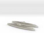 U-862 (Type IXD2 U-Boat) 1/1800 x2