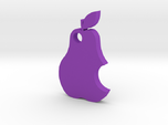 Pear keychain