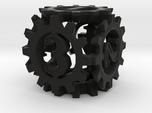 D6 Gear Type 1-(Steampunk/Cog Tinge)
