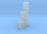3 N Scale Garage Shelves (3 Sizes) 1 Each
