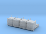 Kenworth Cabover Semi Truck - Set - Zscale