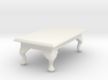 1:24 Queen Anne Coffee Table, Rectangular