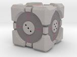 D6 Companion Cube Colored