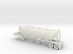 HO 1/87 Dry Bulk Trailer 01 (bigger tank)