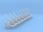 HO-Scale Gas Pump Nozzle (8-Pack)
