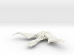 Qu'Hegh Bird Of Pray Class Cruiser -wings Up-