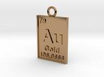 Gold Periodic Table Pendant