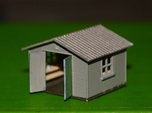N-Scale Backyard Shed (Revised)