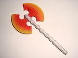 Action Figure Weapon: Greataxe (5mm peg)