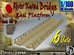 1-160 X6 Units Bridge River Kwai Platforms