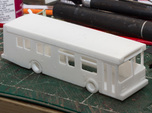 HO scale 1:87 new flyer d30lf bus 30ft