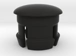 Bar end - Flat/Rear (for 22.2mm handlebar extensio