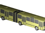 Gelenkbus / articulated bus (1:220)