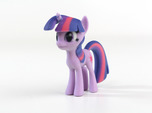 My Little Pony - Twilight (≈65mm tall)