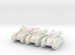 Renault FT Tank 1/160 x3