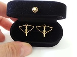 Crossbow cufflinks