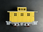 R24a New N Chassis for Bachmann Bobber Caboose x2