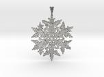 Wilson Bentley Snowflake Crystal Pendant