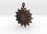 Steampunk Spiked Sun Pendant