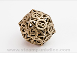 Steampunk Gear d20