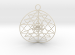 3D Sri Yantra version 3