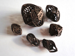 Twisty Spindle Dice Set