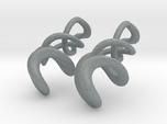 Tumbling loops earrings