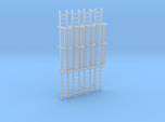 'N Scale' - (4) - 20' Caged Ladder