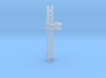 'N-Scale' - 10' Caged Ladder