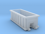 N Scale 20 FT X 8FT  Roll-off Dumpster