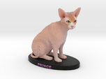 Custom Cat Figurine - Prince