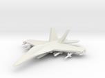 1/285 (6mm) F-18 Super Hornet w/Ordnance Pack-1