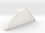 N Scale Bridge Abutment Sheet Piling (55mm)