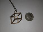 Impossible Cube Necklace