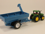 1:160 N Scale Kinze Grain Cart w/ Row Crop Duals