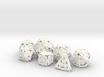'Twined' Dice Gaming Die Set +10D10/Decader 7 dice