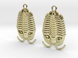 Trilobites Earrings
